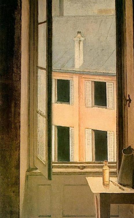 Balthus Window, Cour de Rohan 1951