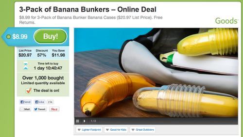 banana bunkers