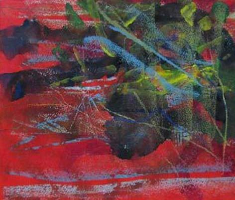 Gerhard Richter, Untitled 1984, oil on paper