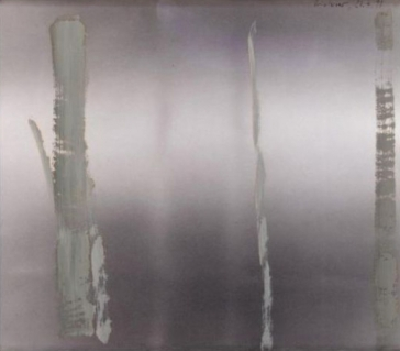 Gerhard Richter, Untitled 1991, oil on photograph