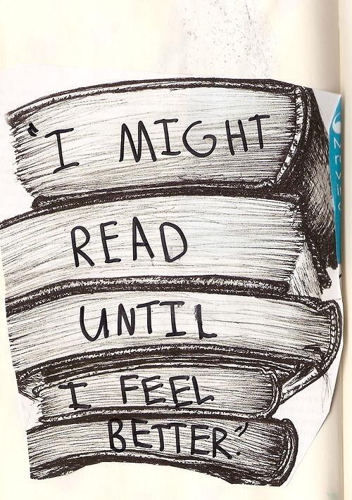 I might read