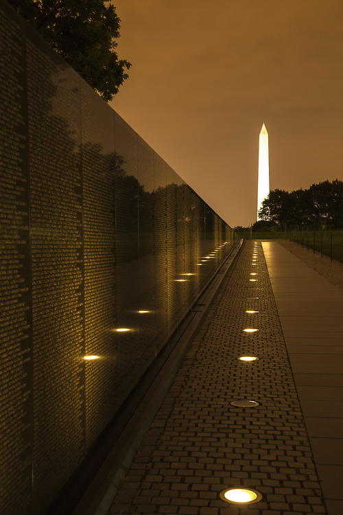 Vietnam Veterans Memorial by Richard Paige