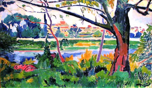 Andre Derain - 1905 - The Seine at Chatou