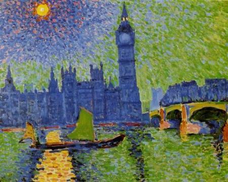 Andre Derain Big Ben 1906