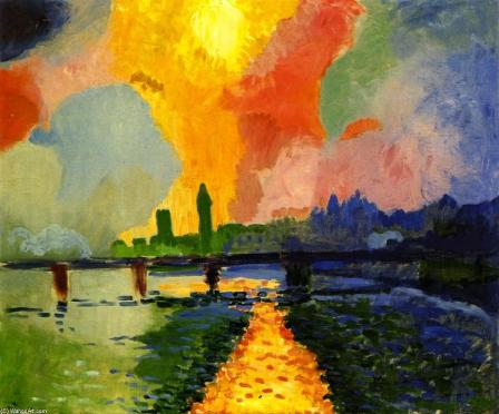 Andre-Derain-Charing-Cross-Bridge 1906