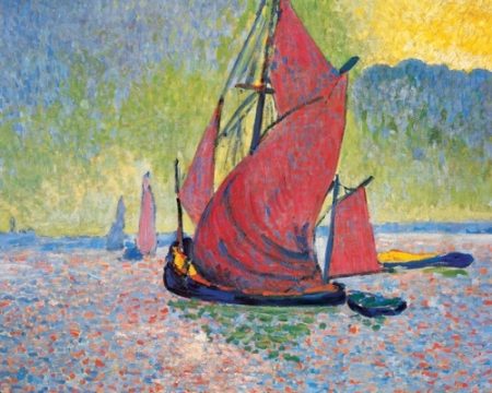 Andre Derain Red Sails 1906