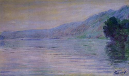 Claude Monet The Seine at Port-Villez, Blue Effect 1894