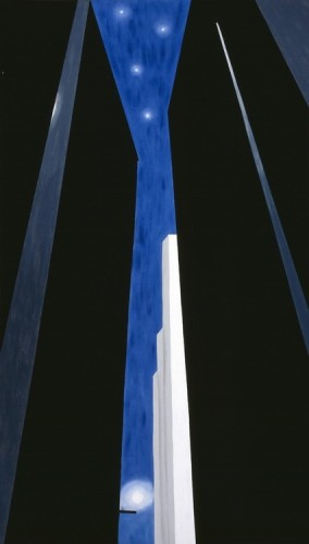 Georgia O'Keeffe Untitled paren Night City paren 1970s