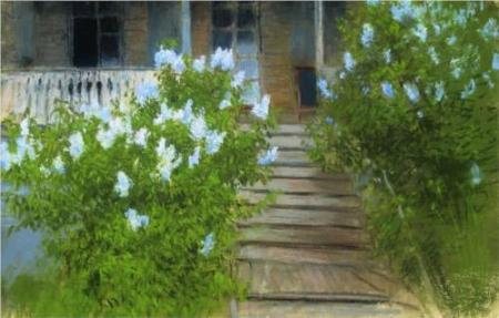 Isaac Levitan Spring per White Lilacs 1895