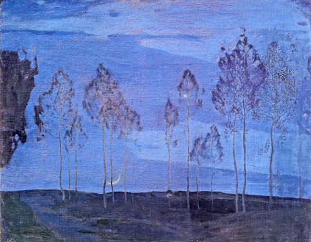 Isaak Brodsky, New Moon, 1906, oil on canvas