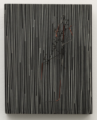 Jesus Rafael Soto Untitled 1959 tempera on wood with painted wire