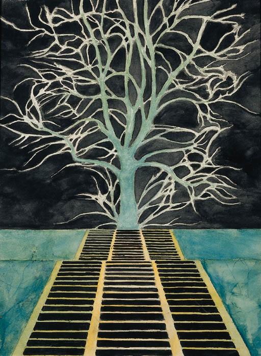 Leon Spillaert, L'Arbre au Bout de l'Escalier