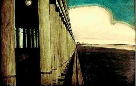 Leon Spilliaert 1908 The-Royal-Galleries-of-Ostende