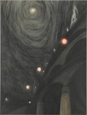Leon Spilliaert Clair de lune et lumières vers 1909