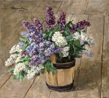 Pyotr Konchalovsky Lilacs 1948 oil on canvas