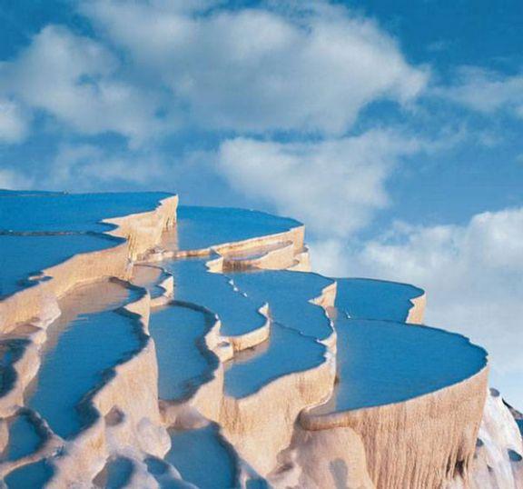 Natural Rock Pools of Pamukkale, Turkey6