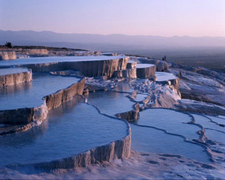 Natural Rock Pools of Pamukkale, Turkey9