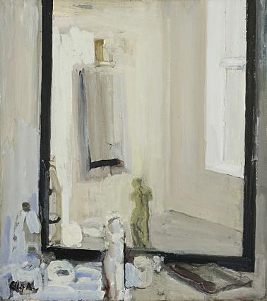 Eilif Amundsen Atelier Mirror 1985 oil on canvas