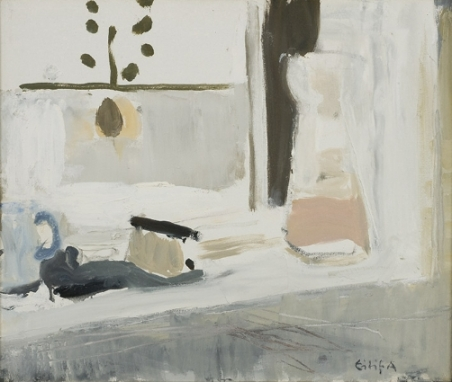 Eilif Amundsen Danish Still Life, Window 2000 oil on canvas