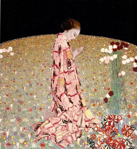 Felice Casorati, Preghiera The Prayer 1914