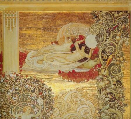 Galileo Chini 1922Terme Berzieri  Frescos