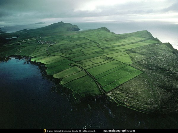 Irish Headlands 1993 Nat Geo Photo of the Day