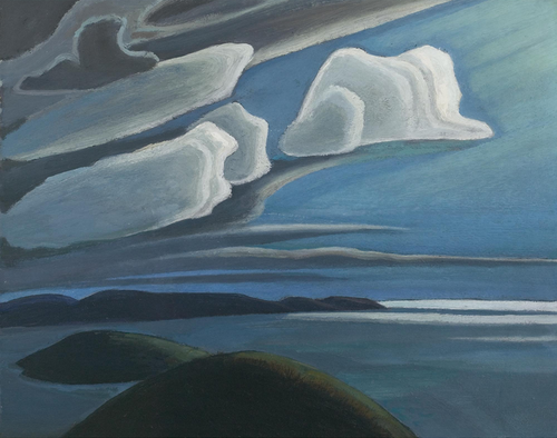 Lawren Harris, Lake Superior Sketch III c1925