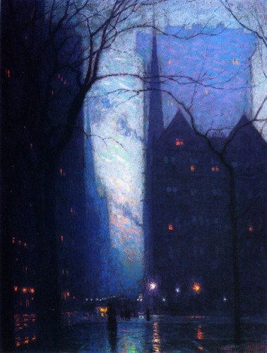 Lowell Birge Harrison Fifth Avenue at Twilight
