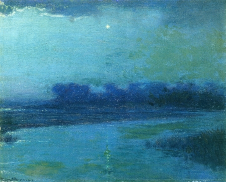 Lowell Birge Harrison The Evening Star nd oil on canvas