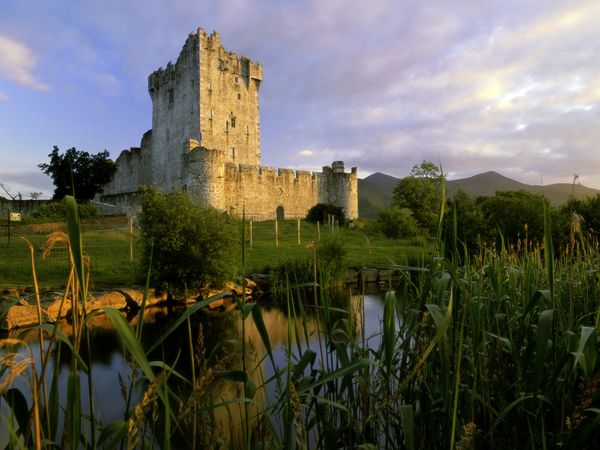 Ross Castle on the Shores of Killarney National Park, Ireland by Travel Pix Limited Nat Geo