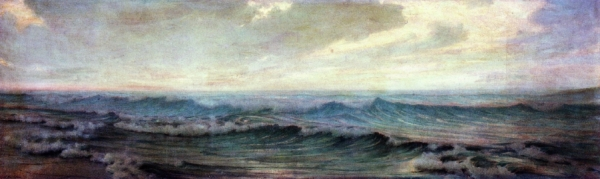 Thomas Alexander Harrison La Mer nd oil on canvas