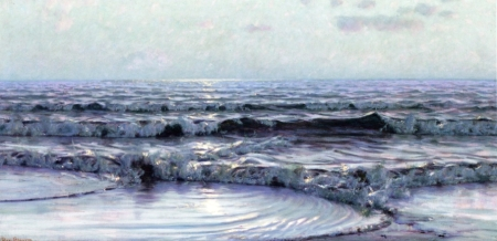 Thomas Alexander Harrison Seascape nd oil on canvas