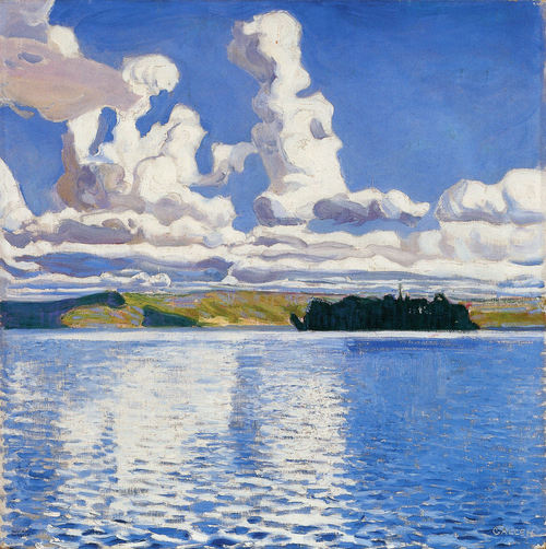 Akseli Gallen-Kallela Cloud Towers 1904