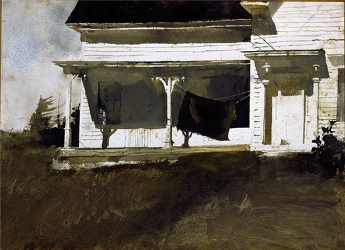 Andrew Wyeth Army Blanket 1957