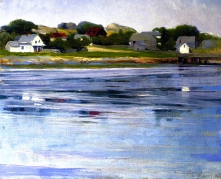 Cecilia Beaux Half-Tide, Annisquam River 1905