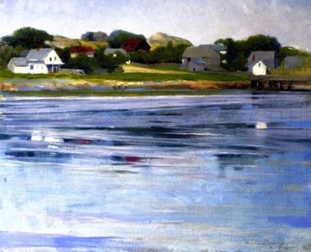 Cecilia Beaux Half-Tide, Annisquam River 1905