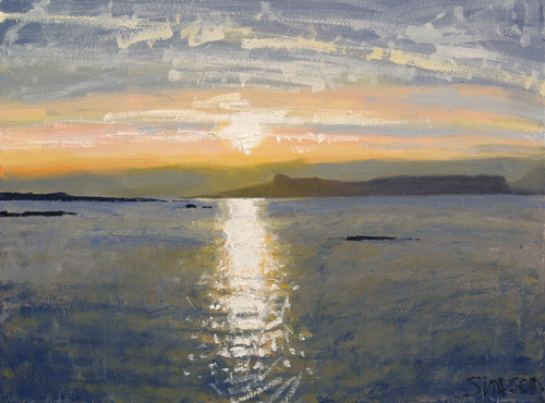 Charles Simpson Sunset Sea