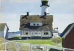 """""""Captain Strout's House, Portland Head"""" (1927)"""