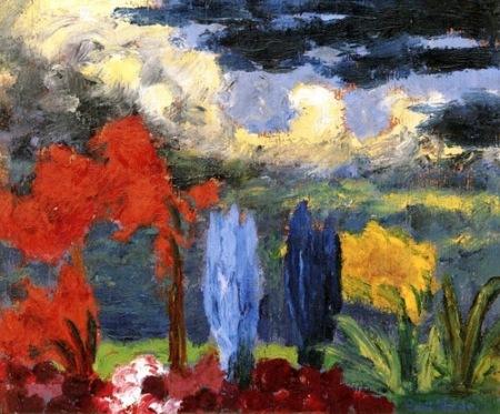 Emil Nolde Autumn Glow