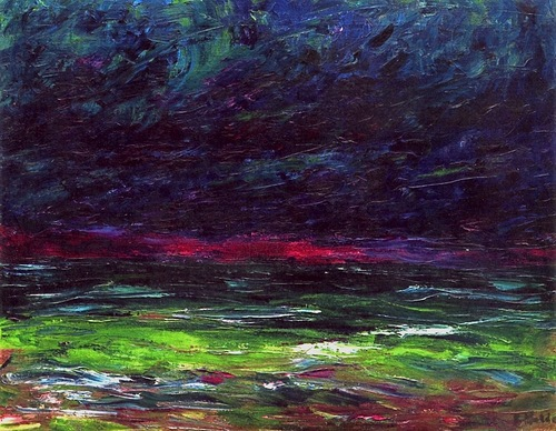 Emil Nolde Autumn Sea IX 1910