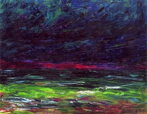 Emil Nolde Autumn Sea IX 1910