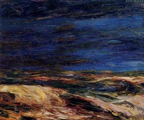 Emil Nolde Autumn Sea XIX 1911 oil on canvas