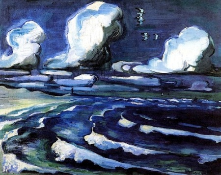 Hermann Max Pechstein Autumn Sea 1933