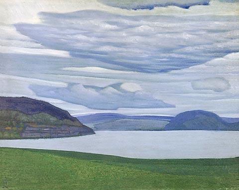 Nicholas Roerich Karelian Landscape c1917