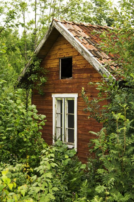 Old Abandoned House by sallads on deviantART cc