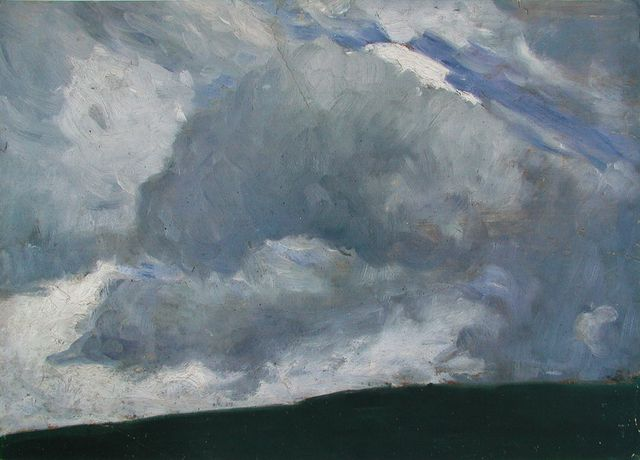 Otto Modersohn The Cloud 1890