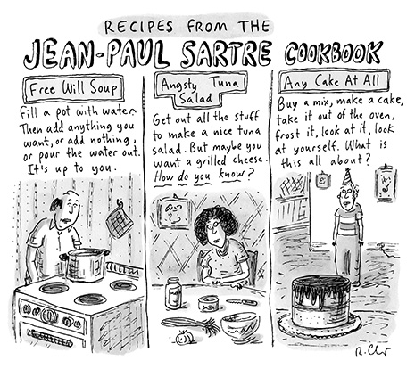 Sartre cooking