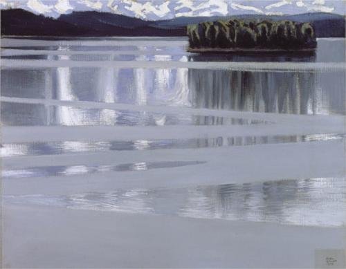 Akseli Gallen-Kallela Lake Keitele 1905