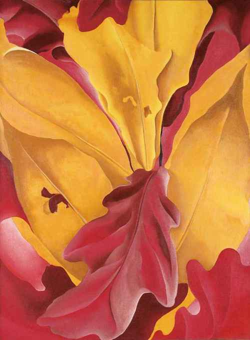 Georgia O'Keeffe My Autumn 1929 oil on canvas