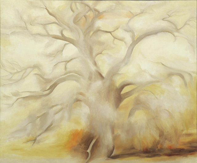Georgia O'Keeffe Winter Tree III 1953 oil on canvas